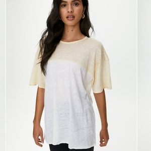 ✨3 for $25✨ Aritzia Wilfred Free Linen T-shirt